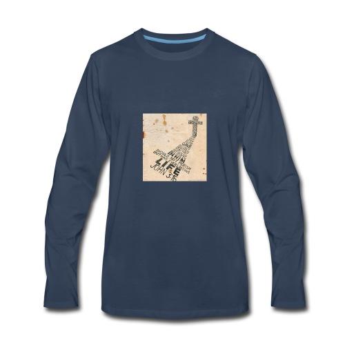 john3:16 - Men's Premium Long Sleeve T-Shirt