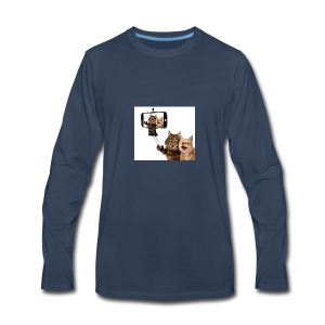 selfi-wallpaper-10928212 - Men's Premium Long Sleeve T-Shirt