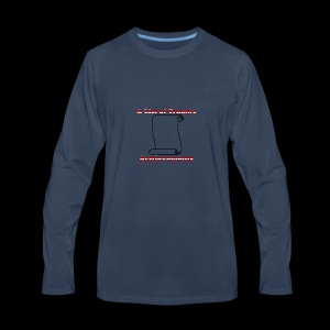 Trump's achievements - Men's Premium Long Sleeve T-Shirt
