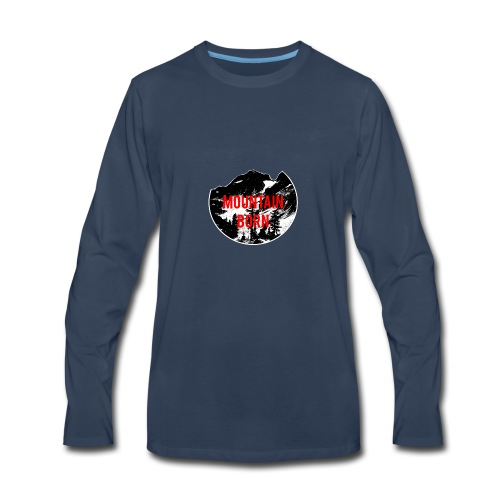 Mountain Born - Men's Premium Long Sleeve T-Shirt