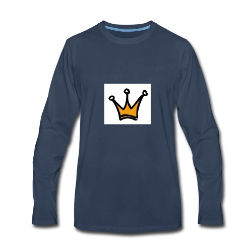 crown-1196222 - Men's Premium Long Sleeve T-Shirt