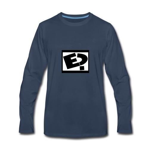 Rated E - Men's Premium Long Sleeve T-Shirt