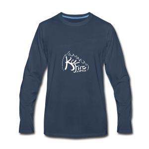 KC Fire Bright Design - Men's Premium Long Sleeve T-Shirt
