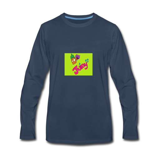 Juicy lime green - Men's Premium Long Sleeve T-Shirt