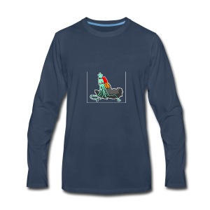 Squidrocket - Men's Premium Long Sleeve T-Shirt