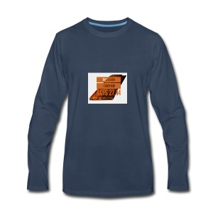 How I survived! - Men's Premium Long Sleeve T-Shirt