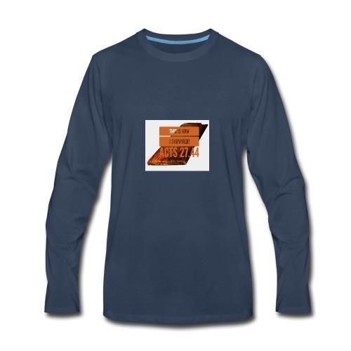 How I survived! - Men's Premium Long Sleeve T-Shirt