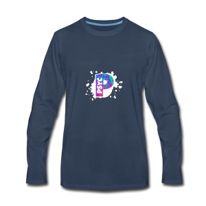 PSYC Channel Art Design - Men's Premium Long Sleeve T-Shirt
