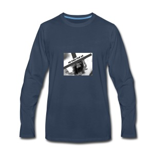 He died for us - Men's Premium Long Sleeve T-Shirt
