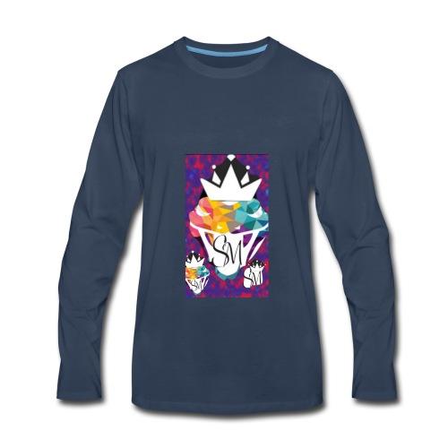 Sergio Medina merge #2 - Men's Premium Long Sleeve T-Shirt