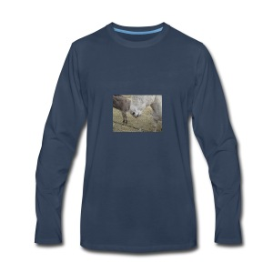 Donkey Face - Men's Premium Long Sleeve T-Shirt