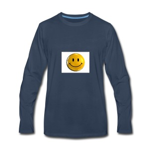 stay happy - Men's Premium Long Sleeve T-Shirt