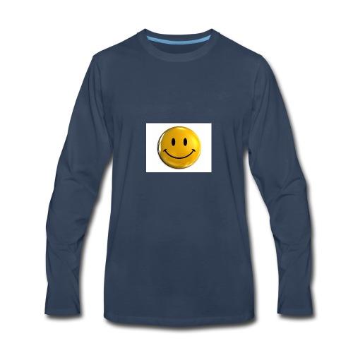 stay happy - Men's Premium Long Sleeve T-Shirt