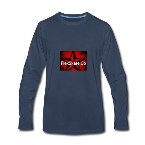 FlexSkate.Co Logo #3 - Men's Premium Long Sleeve T-Shirt