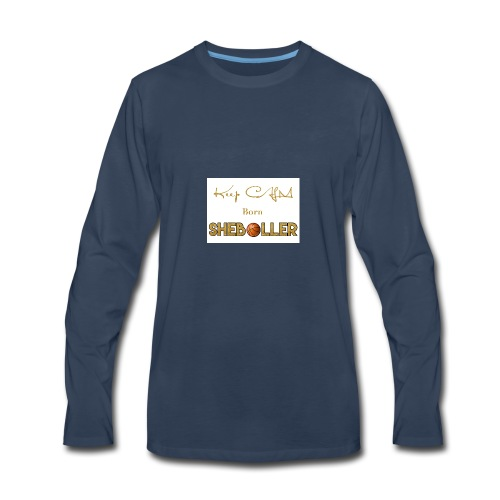 Girl Basketball shirt - Men's Premium Long Sleeve T-Shirt