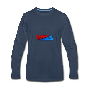 Sick Red And Blue Logo - Men's Premium Long Sleeve T-Shirt