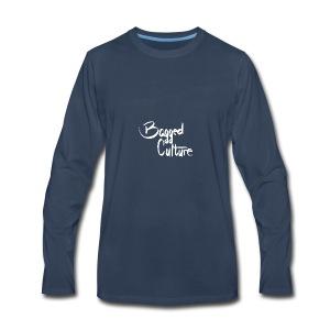 Bagged Culture white - Men's Premium Long Sleeve T-Shirt