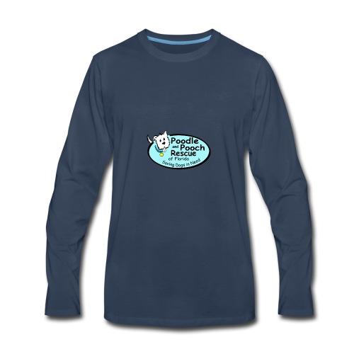 Poodle and Pooch Logo - Men's Premium Long Sleeve T-Shirt