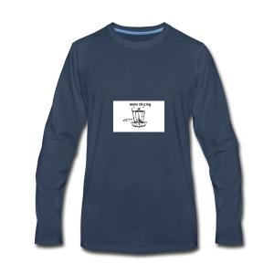 gone_discing - Men's Premium Long Sleeve T-Shirt