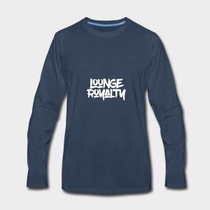 Lounge Royalty Logo - Men's Premium Long Sleeve T-Shirt