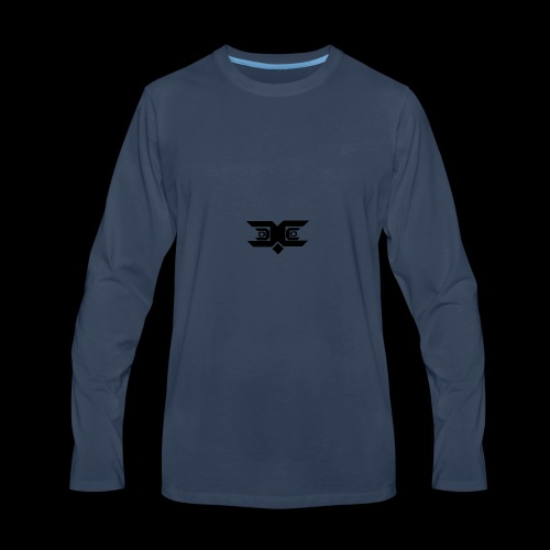 wow - Men's Premium Long Sleeve T-Shirt