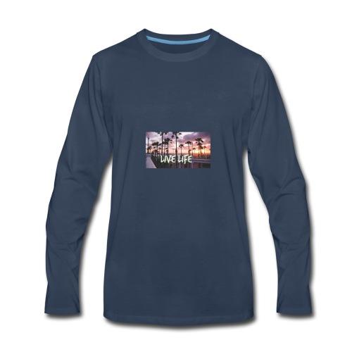 LIVE LIFE - Men's Premium Long Sleeve T-Shirt