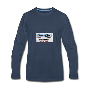 KFW NEW LOGO - Men's Premium Long Sleeve T-Shirt