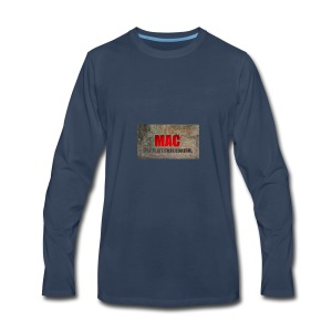 MAC LOGO - Men's Premium Long Sleeve T-Shirt