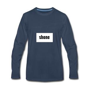 shone - Men's Premium Long Sleeve T-Shirt