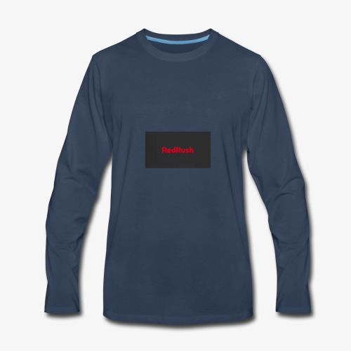 red rush - Men's Premium Long Sleeve T-Shirt