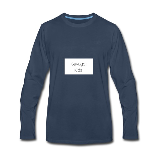 Savage Kids - Men's Premium Long Sleeve T-Shirt