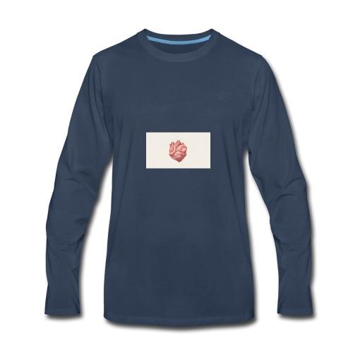digital art heart art background 103910 1920x1080 - Men's Premium Long Sleeve T-Shirt
