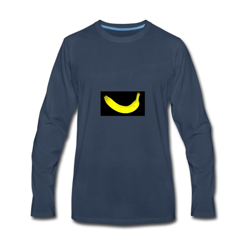 banana 2002541 1920 - Men's Premium Long Sleeve T-Shirt