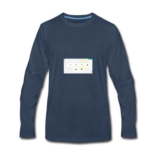 inconistency_in_currencies - Men's Premium Long Sleeve T-Shirt