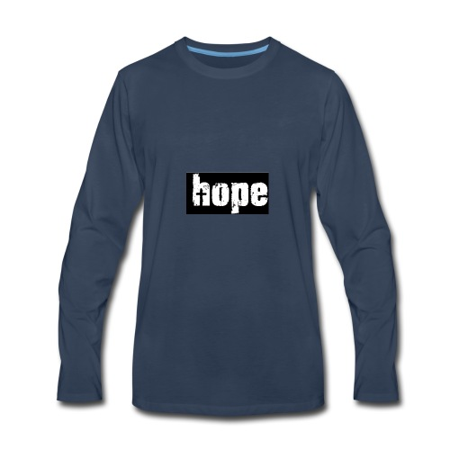 1-Hope - Men's Premium Long Sleeve T-Shirt