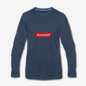Not My Bell inspiration box logog - Men's Premium Long Sleeve T-Shirt