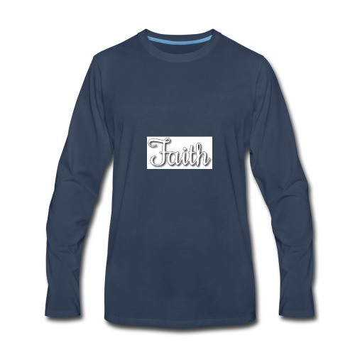 Faith products - Men's Premium Long Sleeve T-Shirt