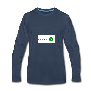accpetnace_logo - Men's Premium Long Sleeve T-Shirt