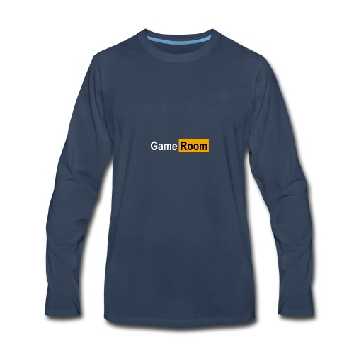 Game_Hub - Men's Premium Long Sleeve T-Shirt