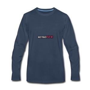 RetroSFX logo - Men's Premium Long Sleeve T-Shirt