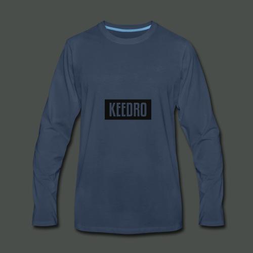 Keedro logo spreadshirt - Men's Premium Long Sleeve T-Shirt