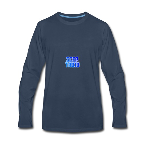 ScepTroid T-shirt! - Men's Premium Long Sleeve T-Shirt