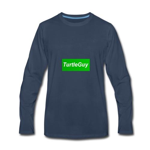 TurtleGuyYT Fan LOGO - Men's Premium Long Sleeve T-Shirt