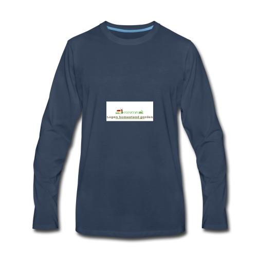Homesteadlogo - Men's Premium Long Sleeve T-Shirt