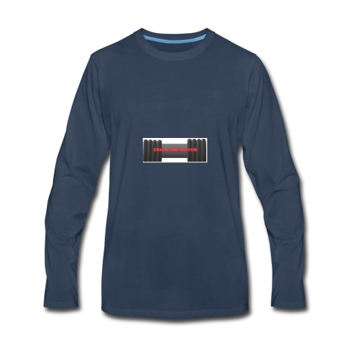 colin the lifter - Men's Premium Long Sleeve T-Shirt