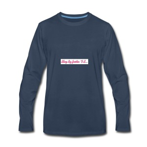 Slay by Justin T- Shirt Collection - Men's Premium Long Sleeve T-Shirt