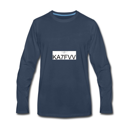 Call with Sat Antenna - Men's Premium Long Sleeve T-Shirt