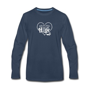 Healing with Hope - Men's Premium Long Sleeve T-Shirt