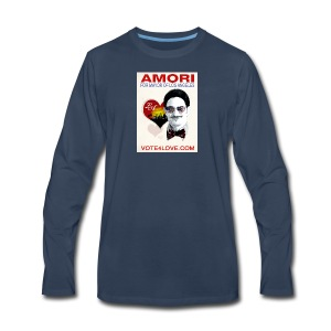 Amori for Mayor of Los Angeles eco friendly shirt - Men's Premium Long Sleeve T-Shirt