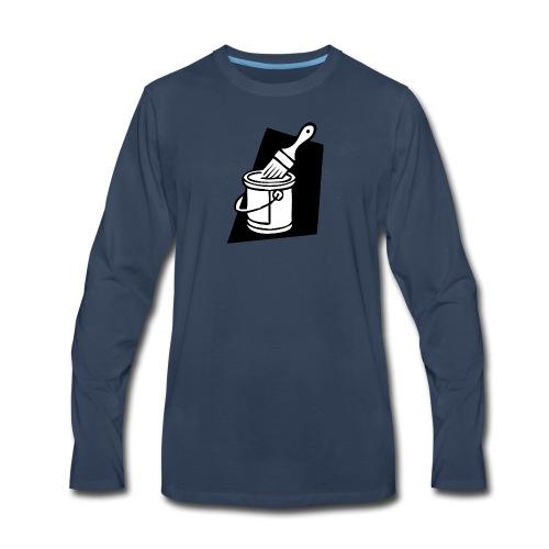 paintbrush - Men's Premium Long Sleeve T-Shirt
